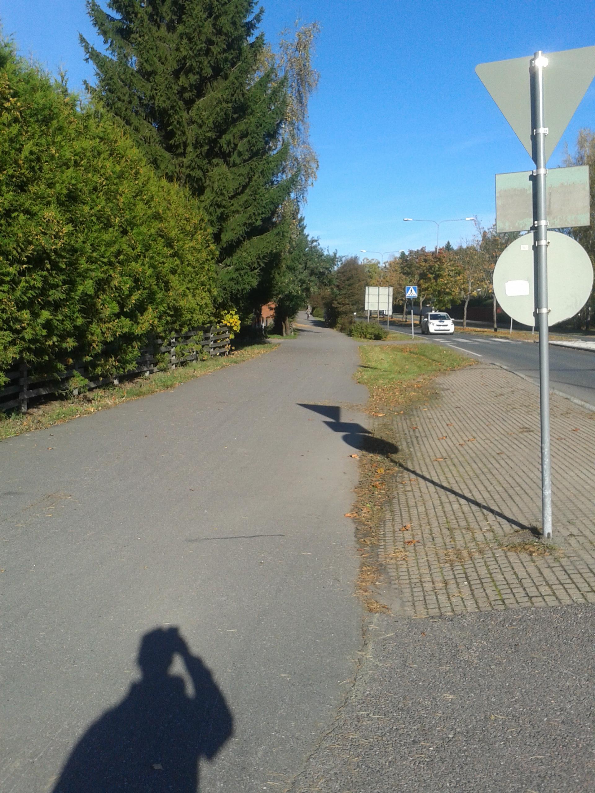 Tapaninvainiontie - road