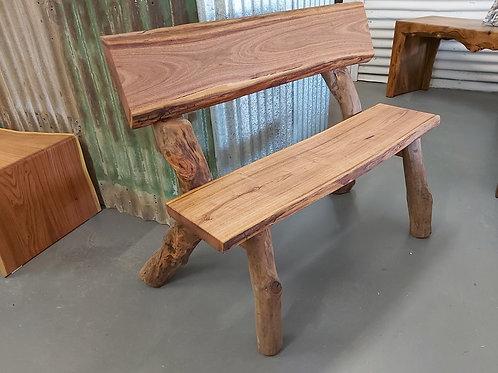 Stringy Bark Bench Seat