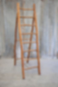 Custom timber step ladder