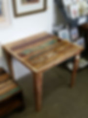 Recycled small square table