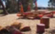 Custom made natural timber playgrounds