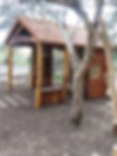 Playground hut