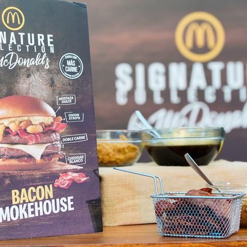 Lanzamiento Bacon Smokehouse.