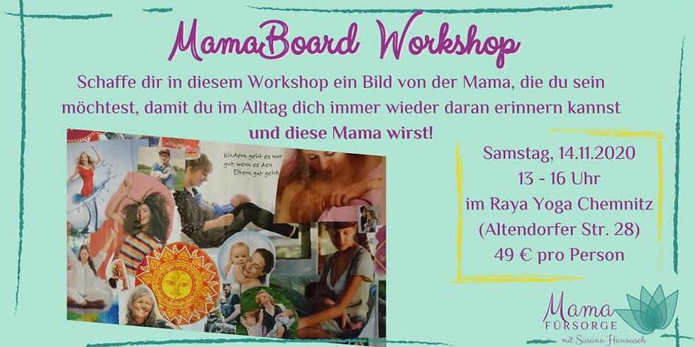 MamaBoard Workshop mit Susann