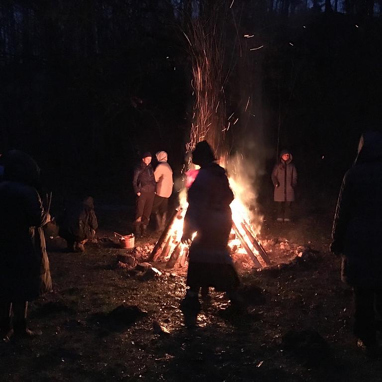 """Frauen-Schwitzhütte """"Samhain"""""""