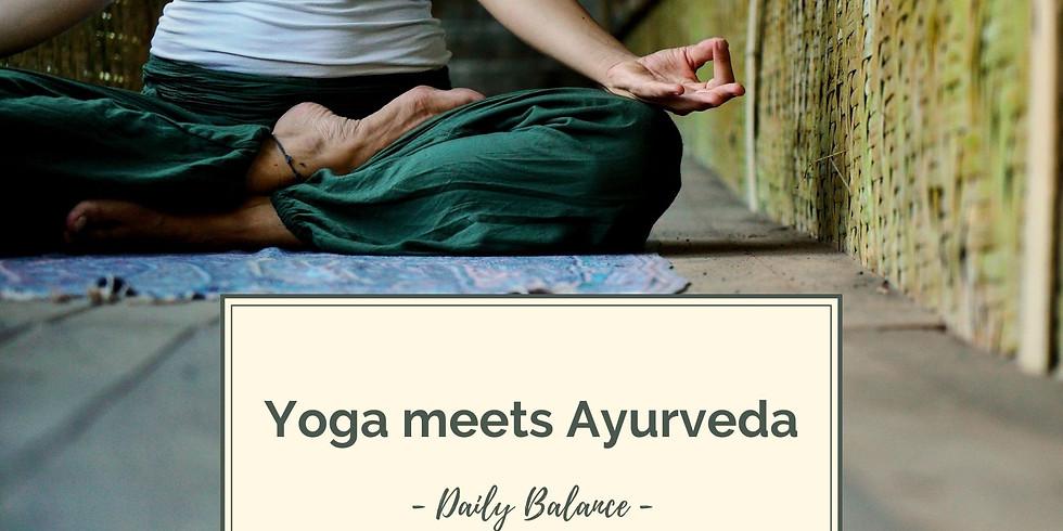 Yoga meets Ayurveda mit Stephi