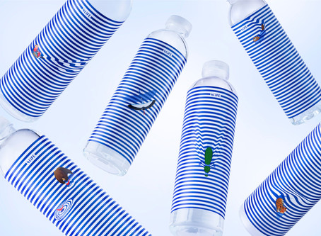 New 4Life mineral water packaging by PromptDesign