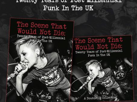 The Scene - punk rock compilation CD
