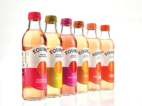 Bespoke Kombucha bottle boosts sales for Equinox