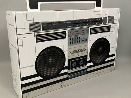 Black Eyed Peas collectors boombox with AR