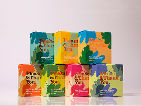 Please & Thank You launches with packaging designed by Sea