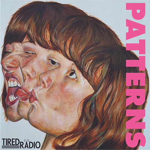 "Tired Radio - Patterns 12"" pink vinyl LP"