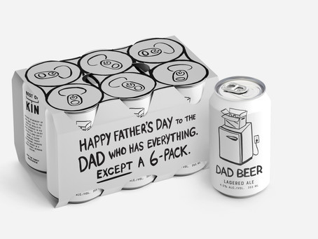 To the dad who has everything... except a six pack!