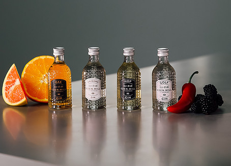 Croxsons' new glass packaging for Eden Mill extends to miniatures