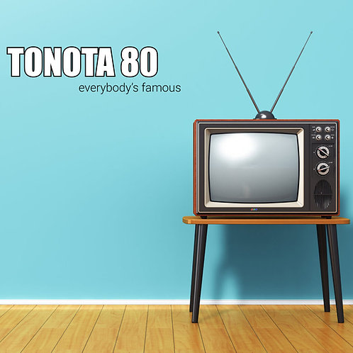 Tonota 80 - Everybody's famous CD