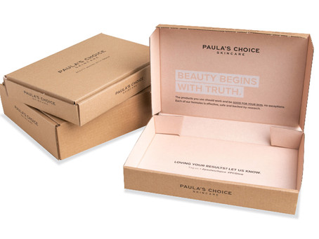 Sustainable packaging for Paula's Choice