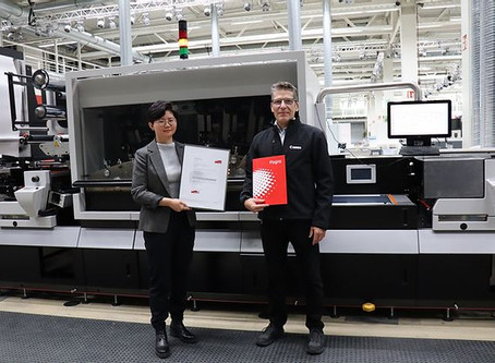 Labelstream 4000 series becomes first Fogra PSD certified digital press