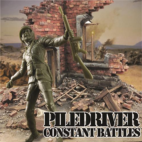 "Piledriver - Constant Battles 10"" Vinyl"