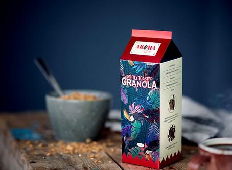 Aroma Coffee shines with Invercote Metalprint Digital