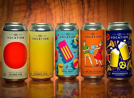 The Label Makers add playful styled labels to complement special release beer series