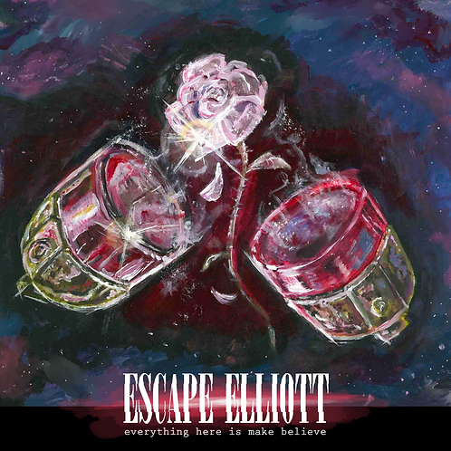 Escape Elliott - Everything here is make believe CD