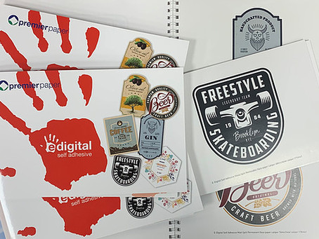 New digital self-adhesive range from Premier Paper