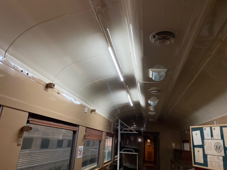 New Lighting in the Hospital Car