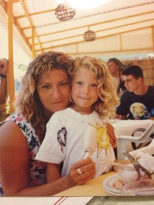 #me #mum #ischia #love #loveis #blonditu