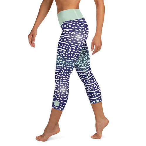 Whaleshark Yoga Pants