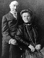 Many waters cannot drench love: Isidor and Ida Straus