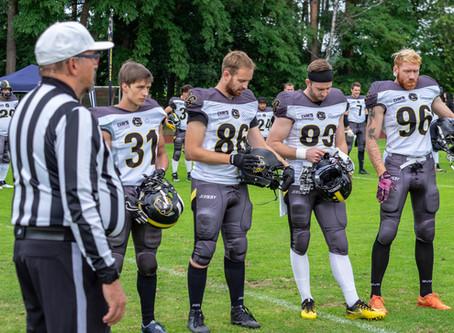 34:8 Sieg für die Dawgs in Nürnberg