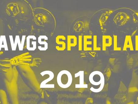 Spielplan 2019