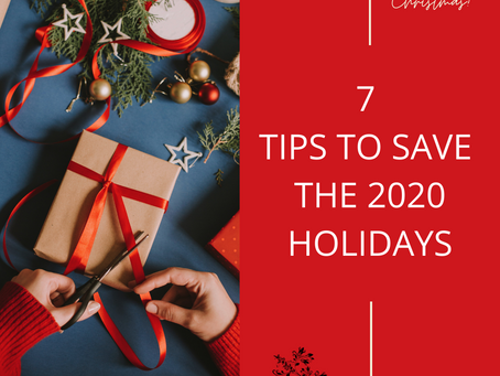Holidays and COVID and Aging Parents – 7 Tips to Save the 2020 Holidays