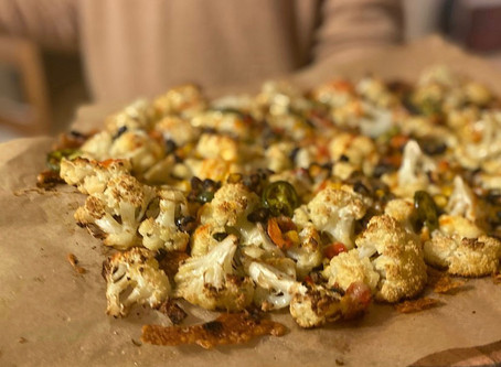 Cauliflower Nachos