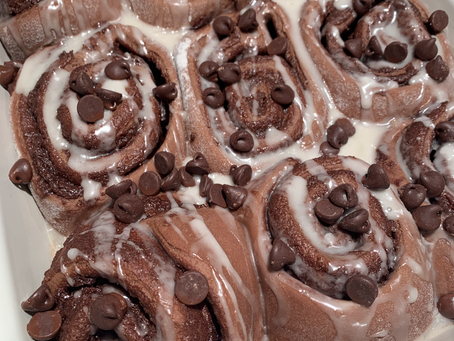 Double Chocolate Cinnamon Rolls
