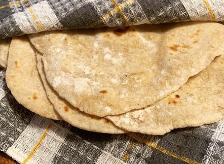 Vegan Homemade Tortillas