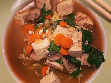 Vegan Ramen Noodle Soup