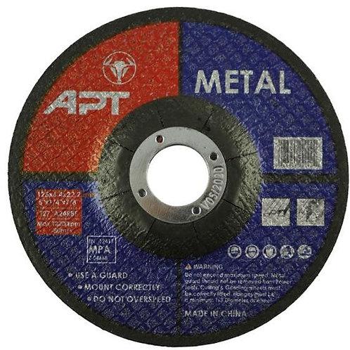 APT Metal grinder stone 5 inch   حجر قطعية حديد 5 بوصة ايه بى تى
