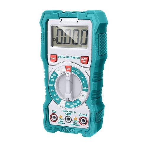 TOTAL TMT46001 Digital Multimeter 600V   ملتيميتر توتال 600 فولت