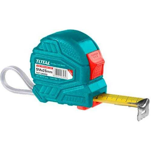 Measuring Tape TOTAL TOOLS TMT126352M - 5 × 25mm | متر 5 متر توتال تولز