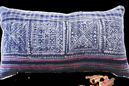 pink boho cushion