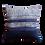 Thumbnail: Vintage Indigo Batik Cushion Cover - Blue III