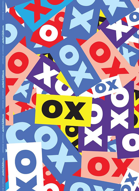 Wrapping Paper - XO