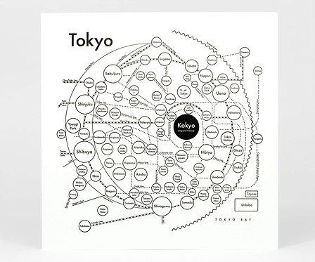 Tokyo Letterpress Print