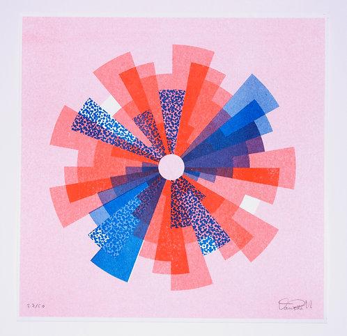 """""""Fan"""" Print by Daniella Trigo"""