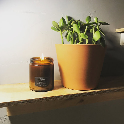Soy Candle - Amber Collection No. 03