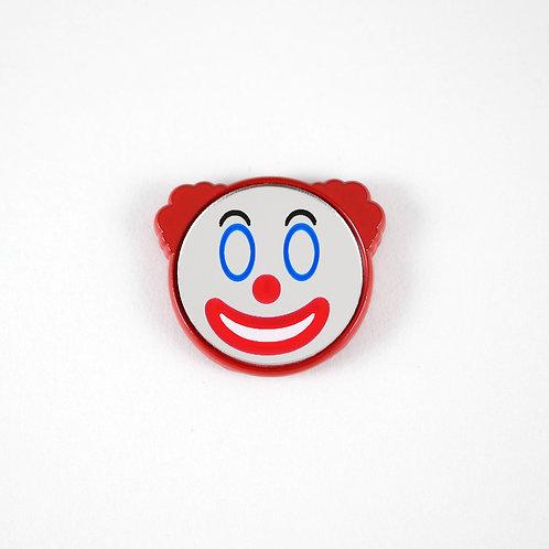 Clown Mirror Pin