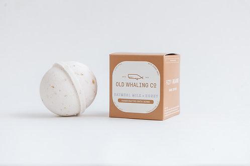 Bath Bomb - Oatmeal Milk + Honey