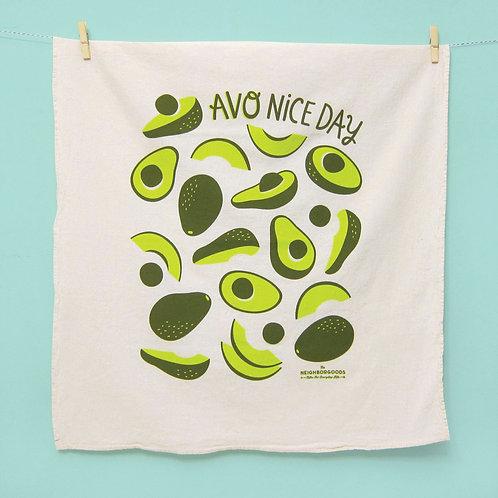 Avocado Dish Towel
