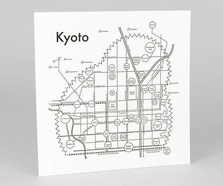 Kyoto Letterpress Print